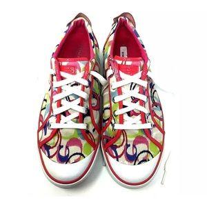 Women's COACH Pink Barrett Sneaker 11B